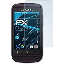 Alcatel One Touch 918D Schutzfolie - 3 x atFoliX FX-Clear kristallklare Folie Displayschutzfolie