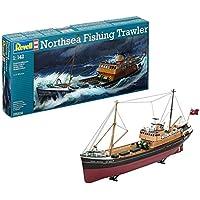 Revell 05204 - Maqueta de barco North Sea Trawler (escala 1:142)