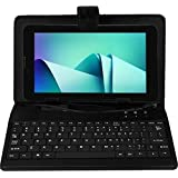 I KALL N9(1+8GB) Dual Sim (3G+WIFI) Calling Tablet With Keyboard- Black