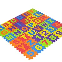 36PCS Suave Espuma De Eva Seguro Tapete De Juegos Aprendizaje Abecedario Número Puzle Rompecabezas para bebé para Niños GB por Trimmingshop - Small - Peluches y Puzzles precios baratos