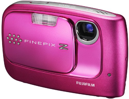 Fujifilm FinePix Z30 Digitalkamera (10 Megapixel, 3fach opt. Zoom, 2.7'' Display) pink