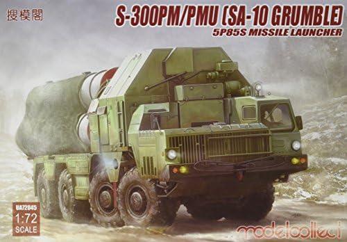 Modelcollect ua72045 – Modèle Kit de 300pm/Pmu (Sa S 10 Grumble) 5p85s Missile Launcher | Porter-résistance