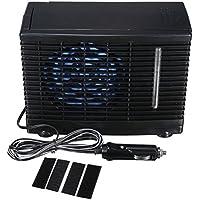 WINOMO Aire Acondicionador Coche Ventilador de Refrigeración 12V Velocidad Ajustable Refrigerador para Coche Vehículo Camión con Adaptador Mechero