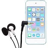 DURAGADGET Auriculares Con Cable Para el Apple iPod Touch ( 6 / 5 / 4 / 3 / 2 / 1 Generación ) - ¡Ideal Para Escuchar Su Música A Todas Horas!