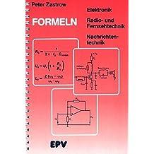 Formeln der Elektronik, Radio- und Fernsehtechnik, Nachrichtentechnik