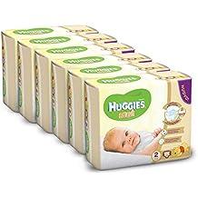Huggies Pannolini Bebè, Taglia 2 (3-6 kg), 6 Confezioni da 24 [144 Pannolini] - Inoltre La Posta