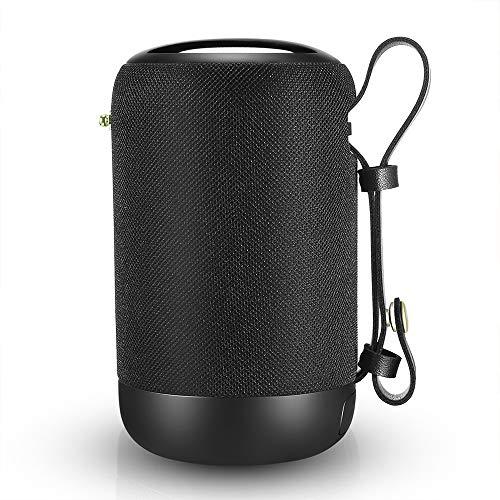 *Bluetooth Lautsprecher, 20W Stereo Sound Tragbarer Lautsprecher Bluetooth V5.0, Dual Treiber IPX56 Wasserfest Extra Bass, Eingebauten Mikrofon 360° TWS 12h Wiedergabe, Unterstützt FM, SD, TF, AUX, USB*