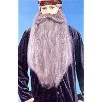 "Duck Hunter 18"" Facial Hair Accessory Grey Beard Moustache"
