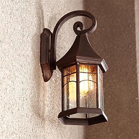 Uncle Sam LI-Retro illuminazione esterna Continental luci del giardino lampada da parete esterna impermeabile