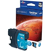 Brother Original LC1100HYC Cyan High Yield  Ink Cartridge