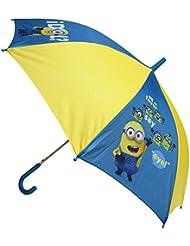 "Minions - Paraguas ""1 in a Minion"" de 48 cm, color azul y amarillo (United Labels 811792)"
