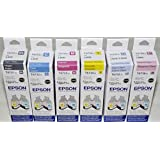 EPSON T673 6-Color Refill Ink Set For L800 / L1800 (Genuine Epson)