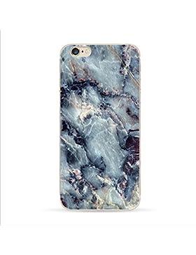 Teryei® TPU Silicona Funda Protección Premium Semi-Transparente Caso cover para iPhone 6/6s 4,7 pulgadas - La...