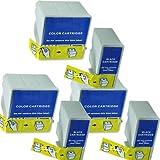 3 juegos ColourDirect T066 & T067 Cartuchos de Tinta Para Epson C48 C48ux Impresoras