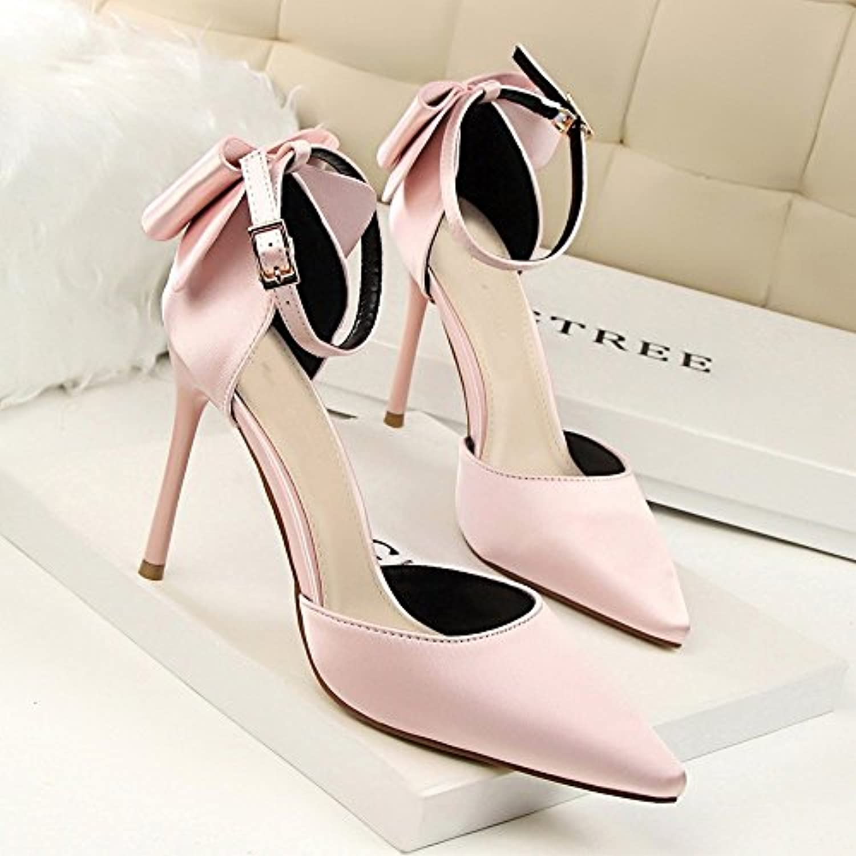 BAJIAN-LI Alta heelsdonna heelsdonna heelsdonna sandali estivi di Peep toe scarpe basse Ladies Flip Flop sandali scarpe   prendere in considerazione  219745