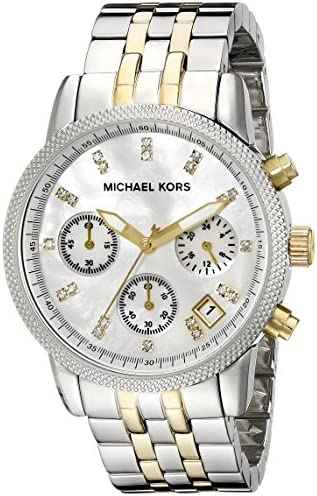 Michael Kors Ladies Ritz Chronograph Watch