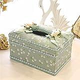 Cajón caja de paño tejido Facial tejido cuadro titular para la oficina en casa, coche Automotriz Decoración,??1