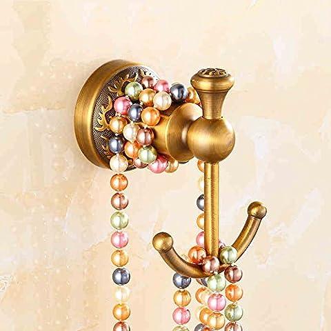 Ganci appesi antichi in stile europeo copre il gancio gancio appeso gancio Hook intagliato Gancio Porta Retro singolo