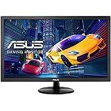 Asus VP228TE 54,6 cm (21,5 Zoll) Monitor (VGA, DVI, 1ms Reaktionszeit, Full HD) schwarz