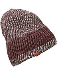 MB Urban Knitted Hat with Fleece Headband - Warm Cap in 4 Colours