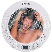Espejo Radio de ducha AM/FM etanche a ventosa