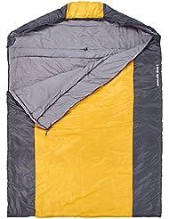 10t Outdoor Equipment 10T Selawik Duo 150L Saco de dormir de manta, Negro, Estándar
