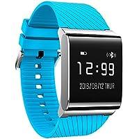 KOBWA Pulsera Actividad, Fitness Tracker con Monitor del Ritmo Cardíaco, Tensiometro, Monitor de