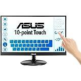 """ASUS VT229H Monitor Táctil de 21,5"""", FHD (1920x1080), Pantalla táctil de 10 Puntos, IPS, Ángulos de visión de 178°, Sin Marco"""