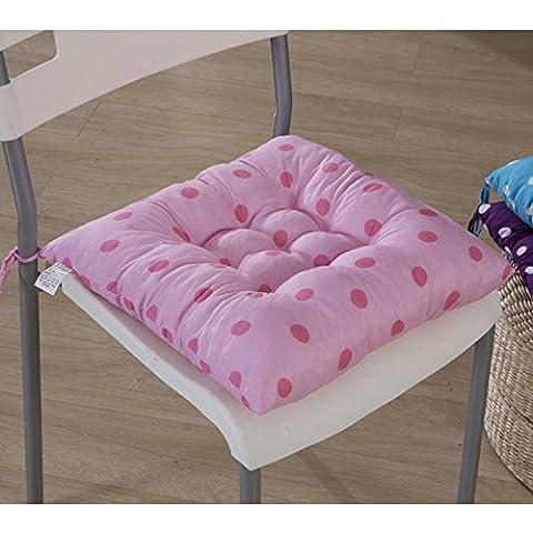 New day-2016 New wave punto opaco studente sedia pad cuscino (dimensioni: 40 * 40cm) , g , 40*40cm