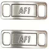 Replacement AF1 Matte Silver Lace Tag Lock