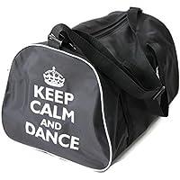 KEEP CALM AND TANZ Sporttasche für tänzer in rosa, Rot, Schwarz oder Blau