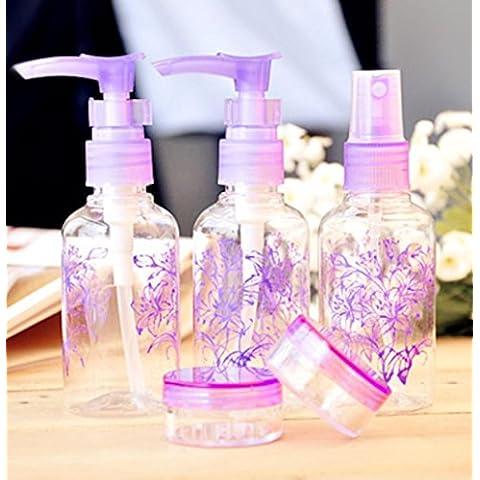 F&HY&L Bottiglie packaging cosmetico soddisfare premendo piccole bottigliette di shampoo