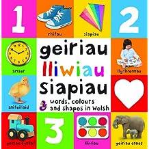 Words, Colours and Shapes in Welsh / Geiriau, Lliwiau a Siapiau (Geiriau Cyntaf)
