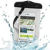 """'Wicked Chili Beach Bag pour Samsung Galaxy S5, S4, S3, Note 3, S4mini, S3mini, Motorola Moto G, Moto X, Sony Xperia Z2, Z1, M2, E1, Nokia XL, X, Lumia 1020, 1320, LG L90, L70, GD 955G Flex, G2mini, Huawei Ascend G6, P7mini, Y530, Doro LIBERTO 810, iPhone 5S, 5C, 5, 4S, 4, HTC One, One Mini–Étui étanche (4.0–5.2""""Appareils/Protection contre la poussière, sable, eau): Version 2.0:"""