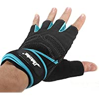 mark8shop Deportes Ejercicio Guantes de levantamiento de peso en el gimnasio Entrenamiento Wrist Wrap