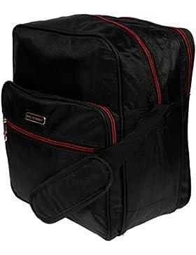 Herren Arbeitstasche XL Umhängetasche Schultertasche Flugumhänger Messenger Bag Boardcase Querformat Herrentasche...