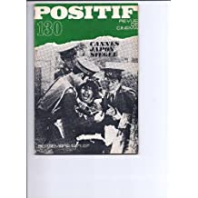 Positif N° 130 septembre 1971 THE GO BETWEEN - MORT A VENISE - CANNES 1971 - OBERHAUSEN - CINEMA JAPONAIS