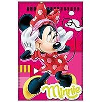 Manta Polar Disney Minnie Mouse Escuchando MÚSICA 150 X 100 CM