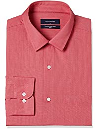Peter England Men's Solid Slim Fit Cotton Formal Shirt
