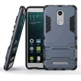 Cassiey Tough Military Grade Armor Defender Series Dual Protection Layer Tpu + Pc Case Cover For Xiaomi Redmi Red Mi Note 3 - Blue
