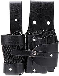 Abody Bolsa para peluquería de tijeras peines de pelo botella herramientas etc con cinturón desmontable