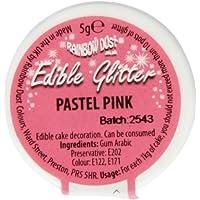 Pastel Pink Edible Glitter