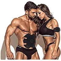 Músculo Abdominal Entrenador EMS ABS Entrenador Músculo Estimulador AB Tonificación Cinturón Cintura Entrenador Vientre Apoyo Cinturón Gimnasio Entrenamiento Ejercicio Máquina Inicio Fitness Entrenamiento Equipo