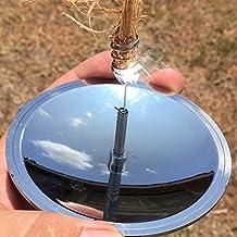 Camping al Aire Libre de Senderismo Encendedor Solar Fire Starter Herramientas de Supervivencia de Emergencia Demiawaking Encendedores al Aire Libre Encender un Fuego por Luz del Sol Arrancador Solar de la Chispa del Fuego Solar Fire Spark Starter