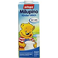 Milupa Milupino Kinder-Milch ab dem 12. Monat, trinkfertig, 6er Pack (6 x 1l)