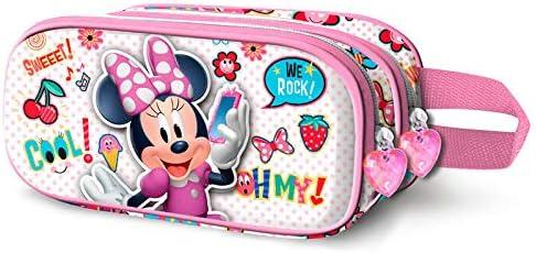 Disney Minnie OhMy! 3D double pencil case B07MNKS1RQ   Fabrication Habile