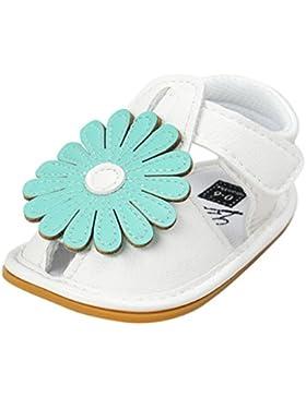 hunpta bebé niña flores sandalias zapatos Casual zapatos Sneaker suela suave antideslizante infantil