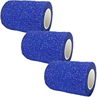 3X 7.5CM COBAN COHESIVE SPORTS SELF ADHESIVE ATHLETIC SUPPORT KNEE ANKLE SHOULDER CALF THIGH STRAP BANDAGE BLUE... preisvergleich bei billige-tabletten.eu