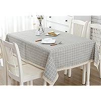 Gzq Tischdecke Linens Gitter Tisch Schutzhülle Für Picknick Home Kitchen  Rund Outdoor Ovaler Tisch Rechteckig Weihnachten