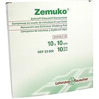 ZEMUKO Kompr.steril 10x10 cm 10 St Kompressen preisvergleich bei billige-tabletten.eu